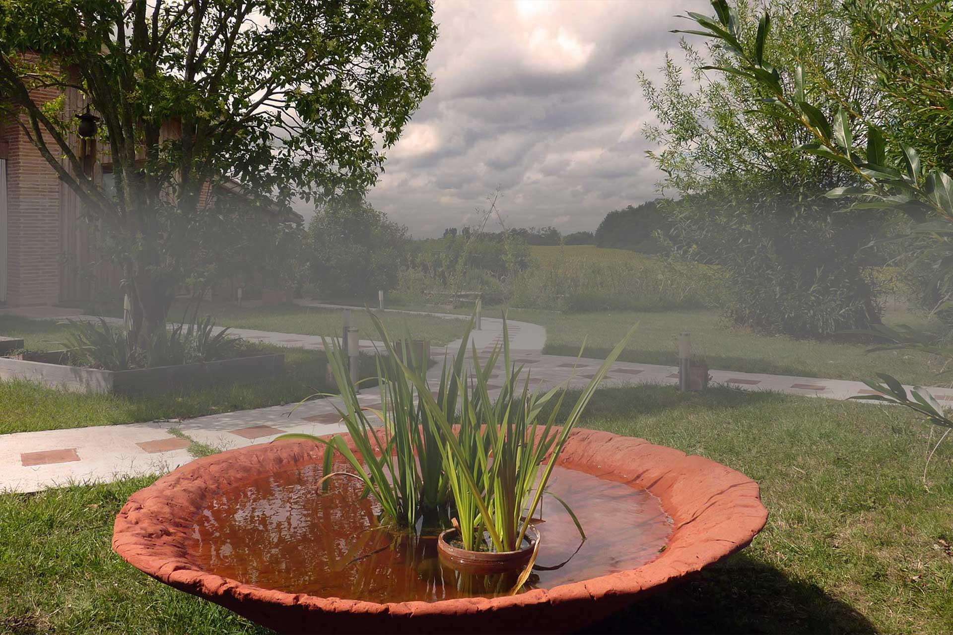 Environnement nature au gite rural de Baugnac