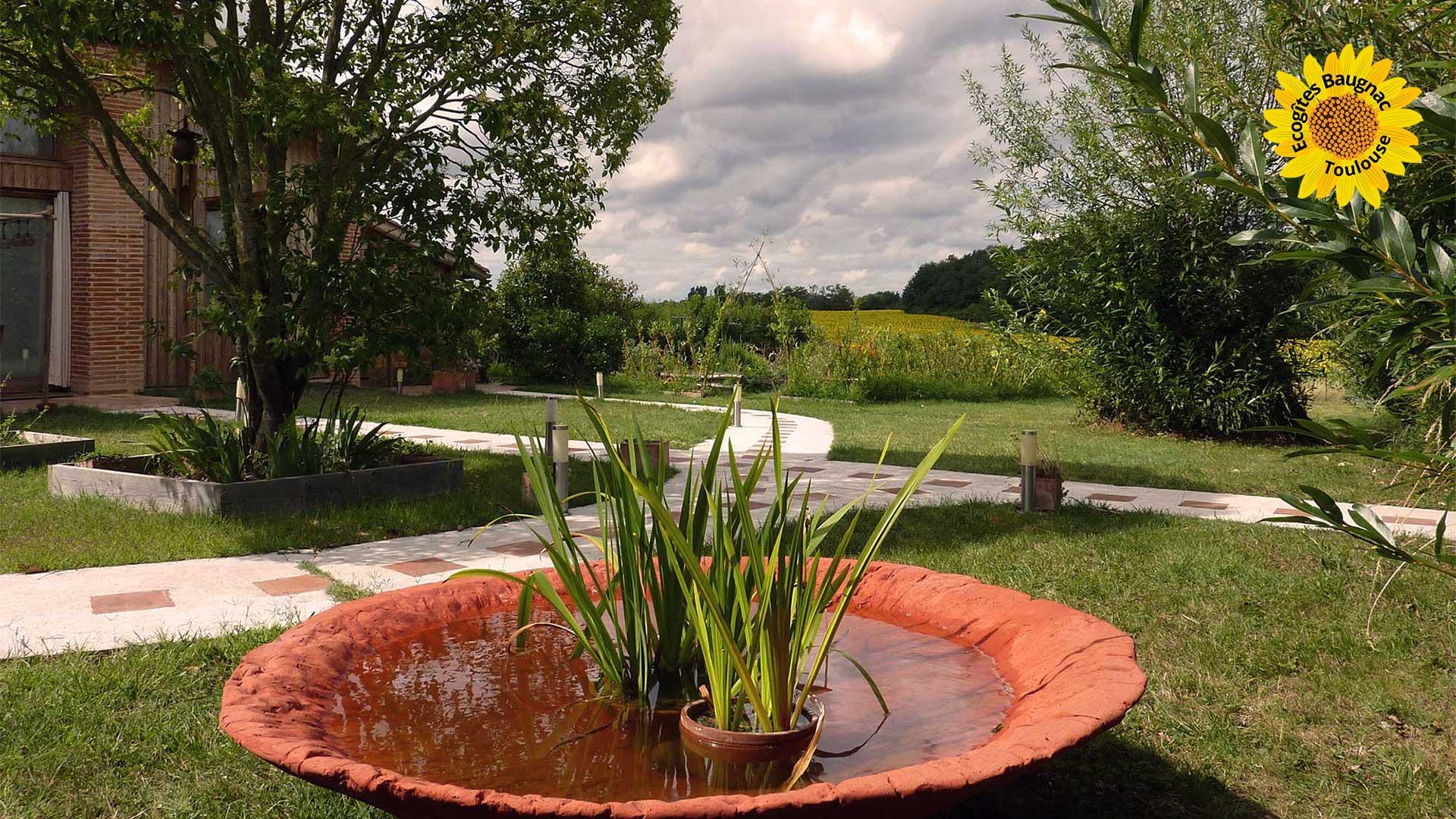 écogite31, jardin - Toulouse