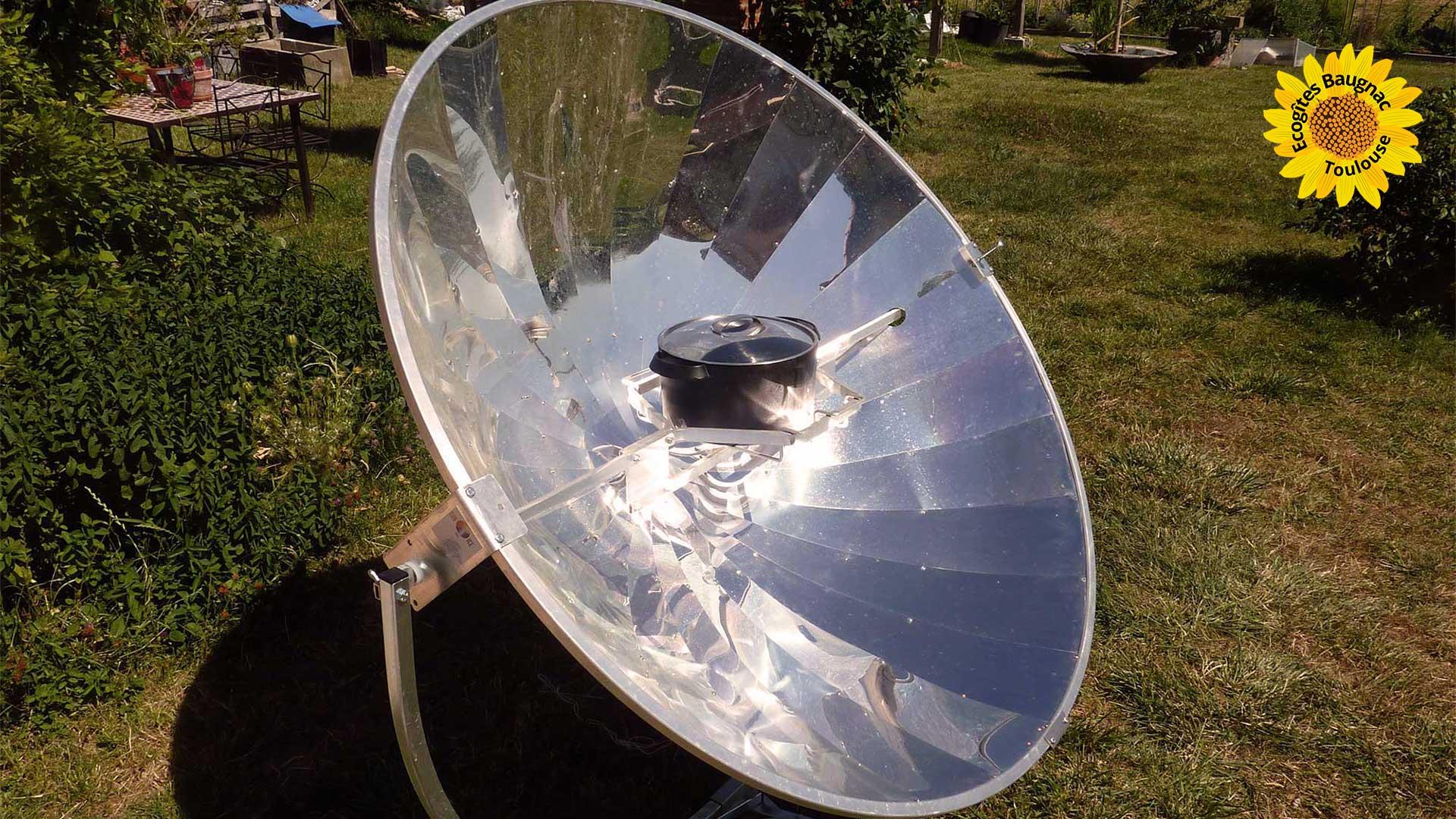 Cuisine solaire comme une action écocitoyenne